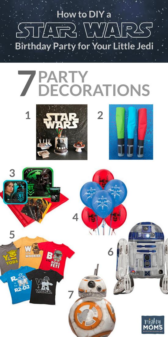 Star Wars Birthday Ideas - Decor Ideas! - MightyMoms.club