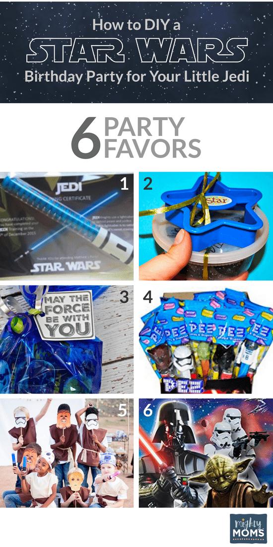 Star Wars Birthday Ideas - Favors! - MightyMoms.club