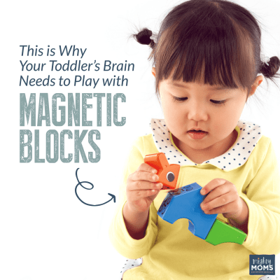 This is Why Your Toddler's Brain Needs to Play with Magnetic Blocks