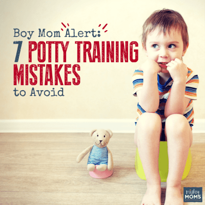 Potty Training Boys? 7 Mistakes You'll Want to Avoid