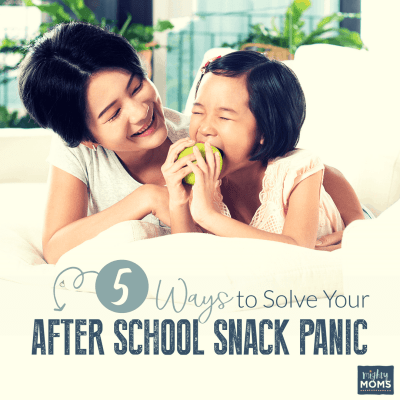 5 Ways to Solve Your After School Snack Panic