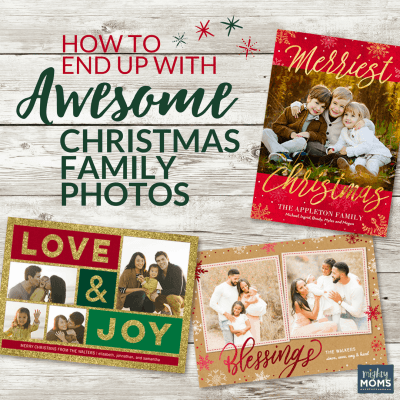 How to End Up with Awesome Christmas Family Photos