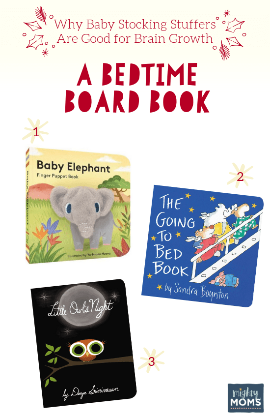 Smart Baby Stocking Stuffers: A Bedtime Book - MightyMoms.club