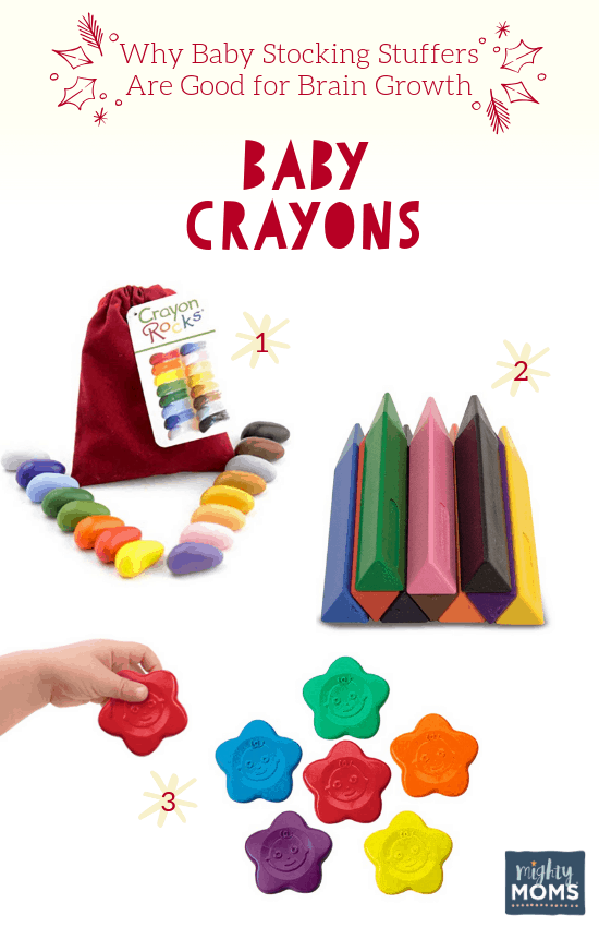 Smart Baby Stocking Stuffers: Baby Crayons - MightyMoms.club