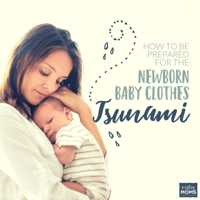 How to Be Prepared for the Newborn Baby Clothes Tsunami