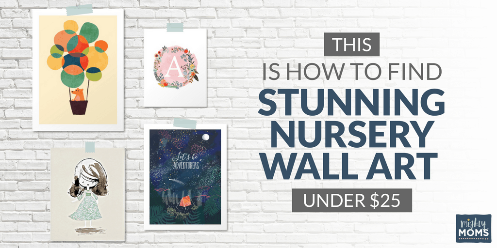 This is How to Find Stunning Nursery Wall Art Under $25 • The Mighty ...