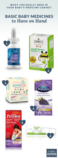 What You Really Need in Your Baby's Medicine Cabinet  The ...