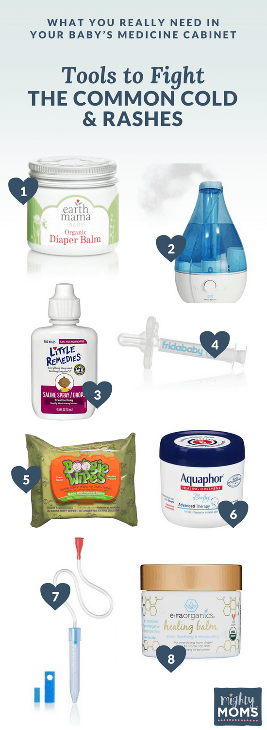 What You Really Need In Your Baby's Medicine Cabinet - MightyMoms.club