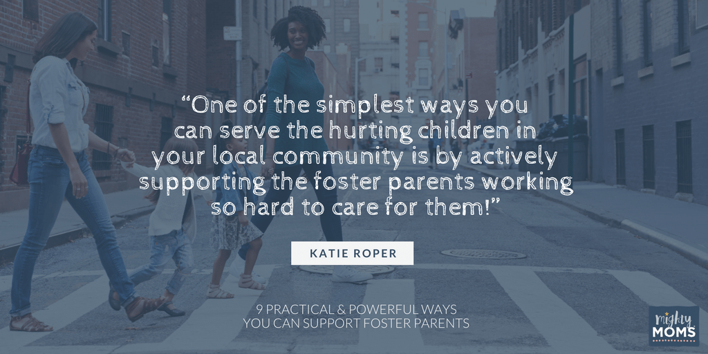 Click for 9 practical and powerful ways you can support foster parents