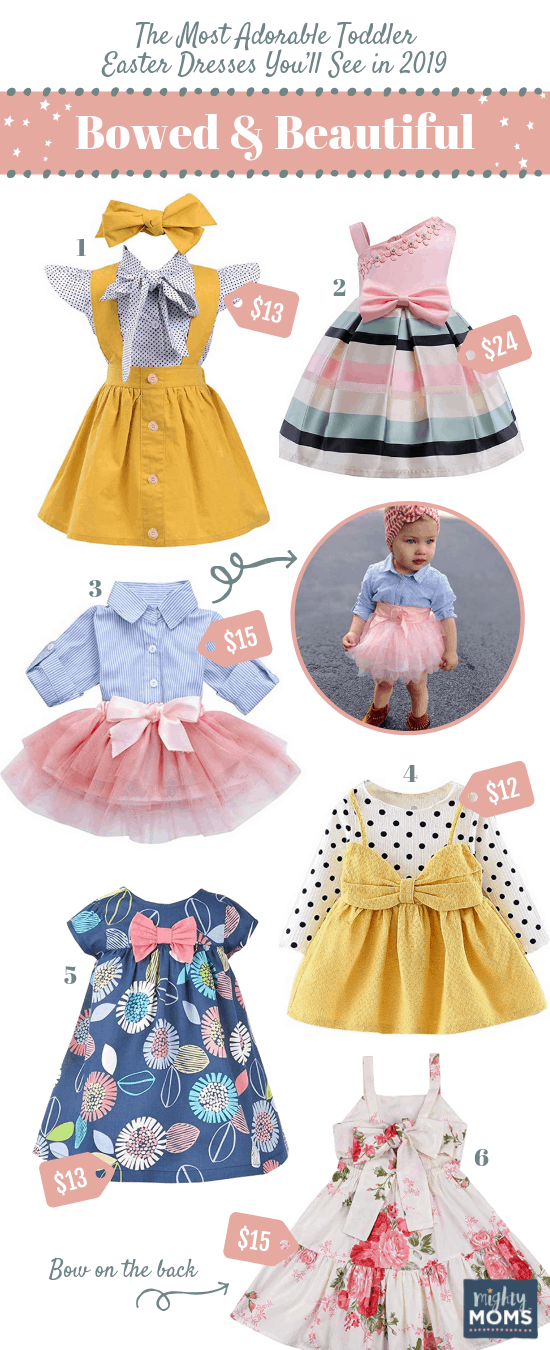 Bowed & Beautiful Toddler Easter Dresses - MightyMoms.club