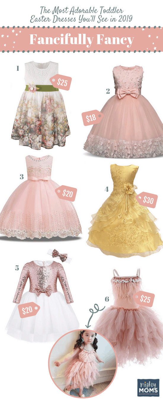 Fancifully Fancy Toddler Easter Dresses - MightyMoms.club