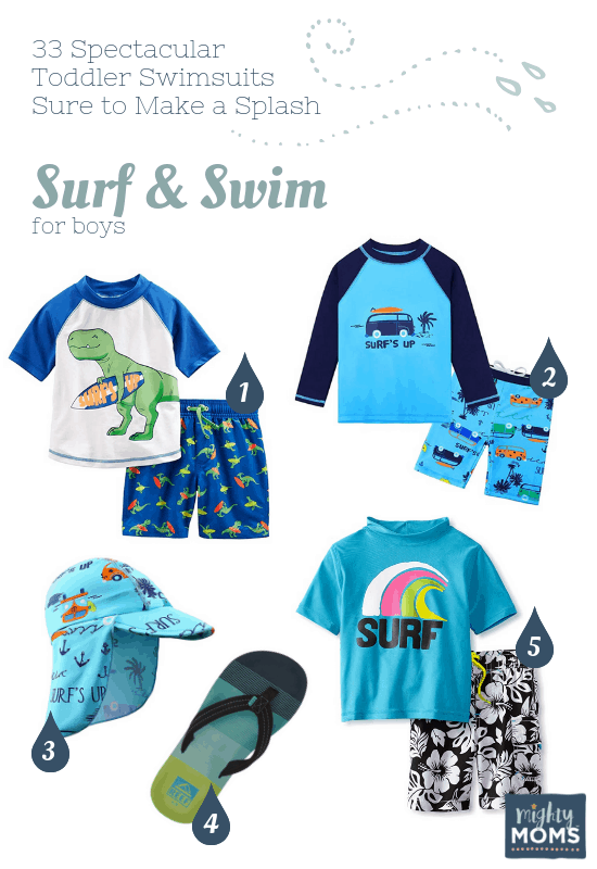 Spectacular Toddler Swimsuits: Surf & Swim - MightyMoms.club