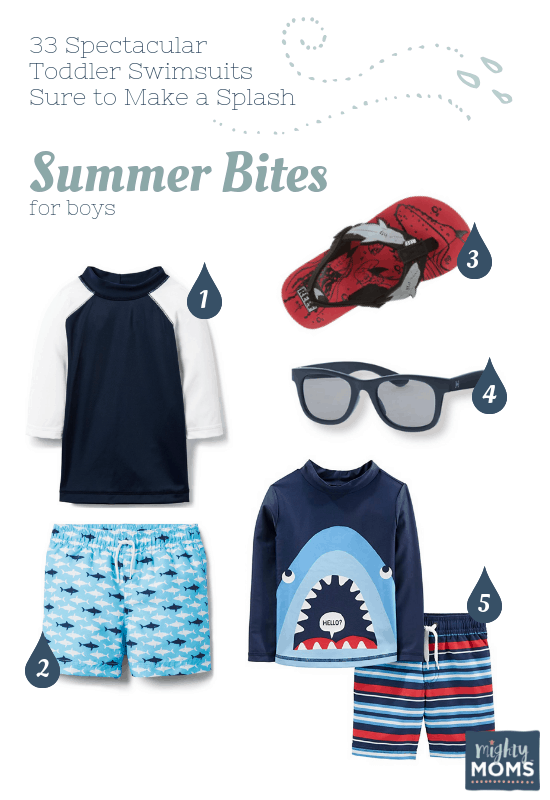 Spectacular Toddler Swimsuits: Summer Bites - MightyMoms.club