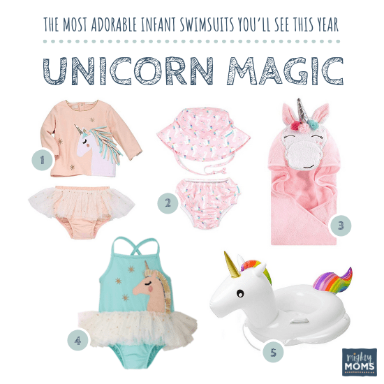 Infant Swimsuits: Unicorn Magic Collection - MightyMoms.club
