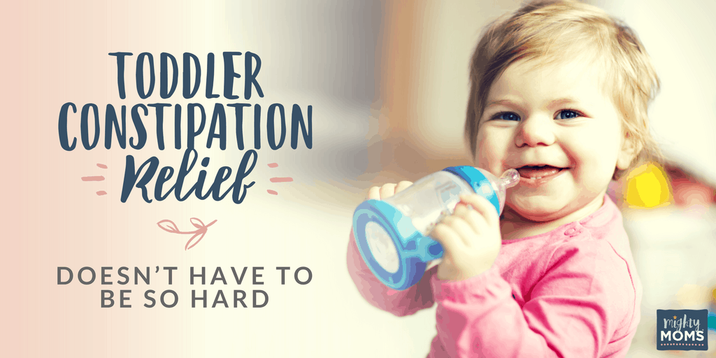 Toddler Constipation Relief Doesn't Have to Be So Hard - MightyMoms.club