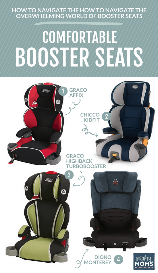 Most Comfortable Booster Seats for Long Trips - MightyMoms.club