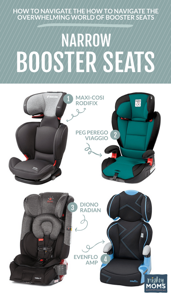 Narrow Child Booster Seats - MightyMoms.club