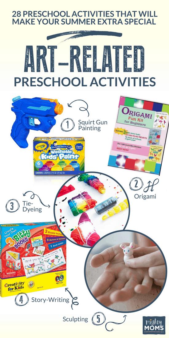 Artful Summer Preschool Activities - MightyMoms.club