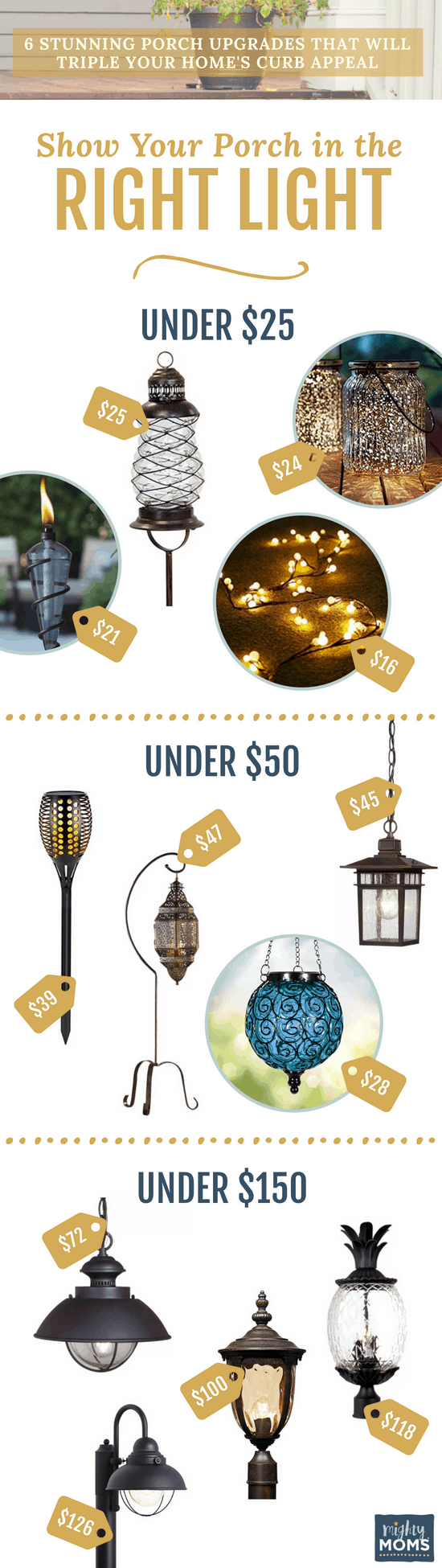 Increase Curb Appeal with Romantic Lighting - MightyMoms.club