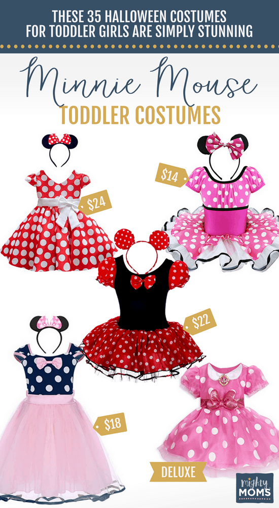 Minnie Mouse Halloween Toddler Costumes - MightyMoms.club