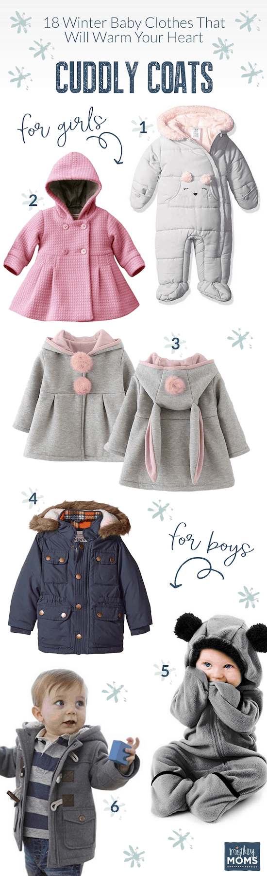 Baby Clothes for Winter: Cuddleable Coats - MightyMoms.club
