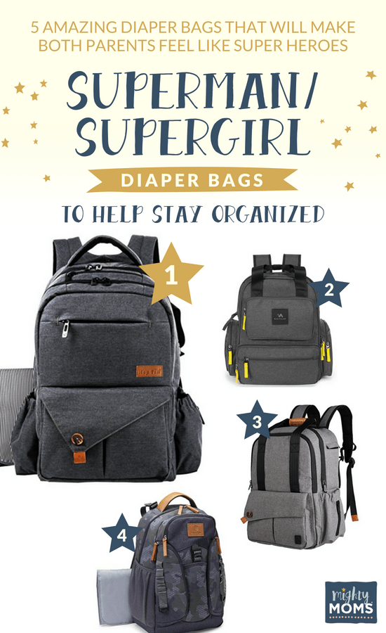 Super Diaper Bags to stay SUPER organized! - MightyMoms.club