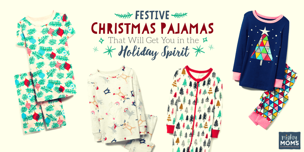Adorable Christmas pajamas for the whole family - MightyMoms.club