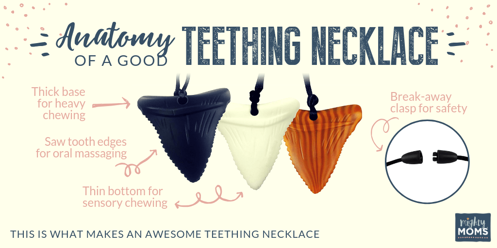 Anatomy of a good teething necklace - MightyMoms.club