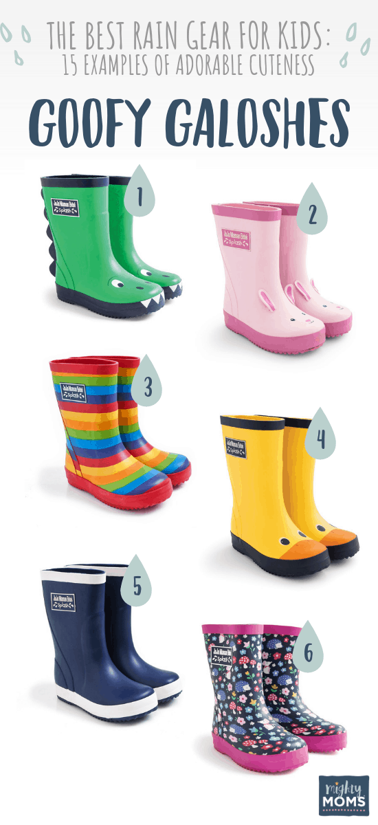 Best Rain Boots for Kids - MightyMoms.club