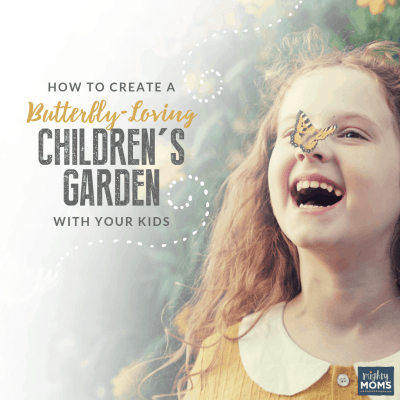 How to Create a Butterfly-Loving Children's Garden with Your Kids