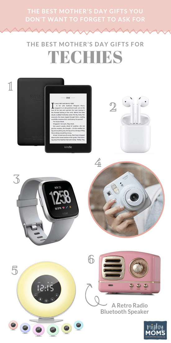 The Best Mother's Day Gifts for Techies - MightyMoms.club