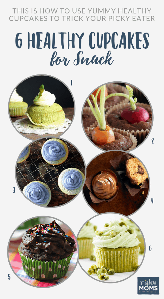 Try these delicious healthy cupcakes! MightyMoms.club