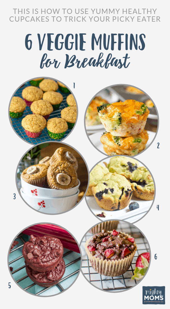 These veggie muffins will fool your kids - MightyMoms.club