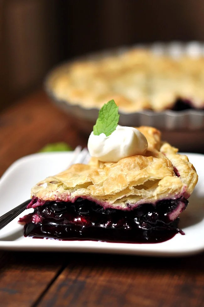 Puff Pastry Blueberry Pie   Mighty Mrs.   Raising Strong