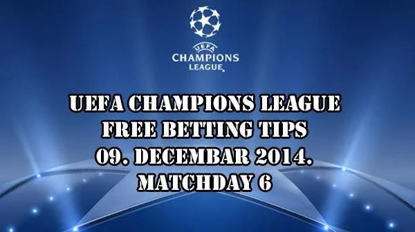 Champions League Predictions and Betting Tips 09.12.2014.
