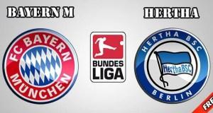 Bayern Munchen vs Hertha Prediction and Betting Tips