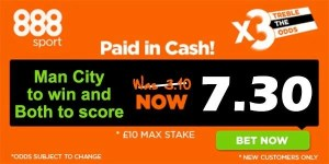 Leicester vs Manchester City Bet
