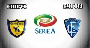 Chievo vs Empoli Prediction and Betting Tips