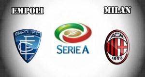 Empoli vs Milan Prediction and Betting Tips