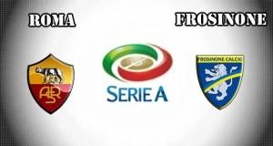 Roma vs Frosinone Prediction and Betting Tips