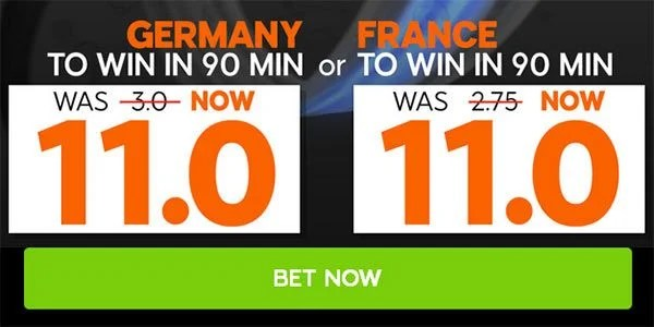 Germany vs France Prediction and Bet