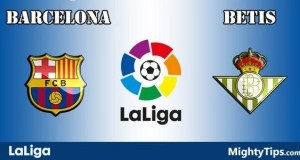 Barcelona vs Betis Prediction and Betting Tips