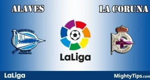 Alaves vs La Coruna Prediction and Betting Tips
