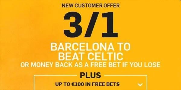 Barcelona vs Celtic Prediction and Bet
