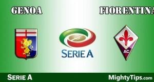 Genoa vs Fiorentina Prediction and Betting Tips
