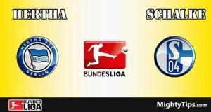 Hertha vs Schalke Prediction and Betting Tips