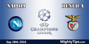 Napoli vs Benfica Prediction and Betting Tips