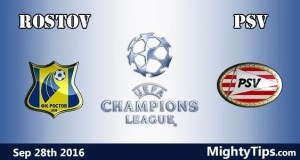 Rostov vs PSV Prediction and Betting Tips