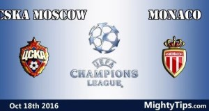 CSKA Moscow vs Monaco Prediction and Betting Tips