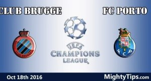 Club Brugge vs Porto Prediction and Betting Tips
